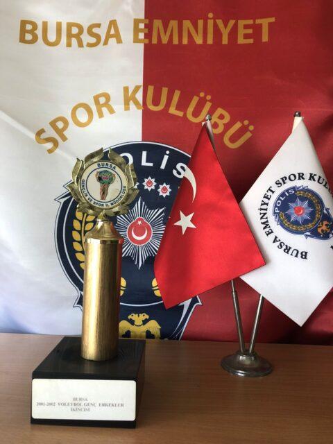 2001-2002 Voleybol Genç Erkekler Bursa İkincisi