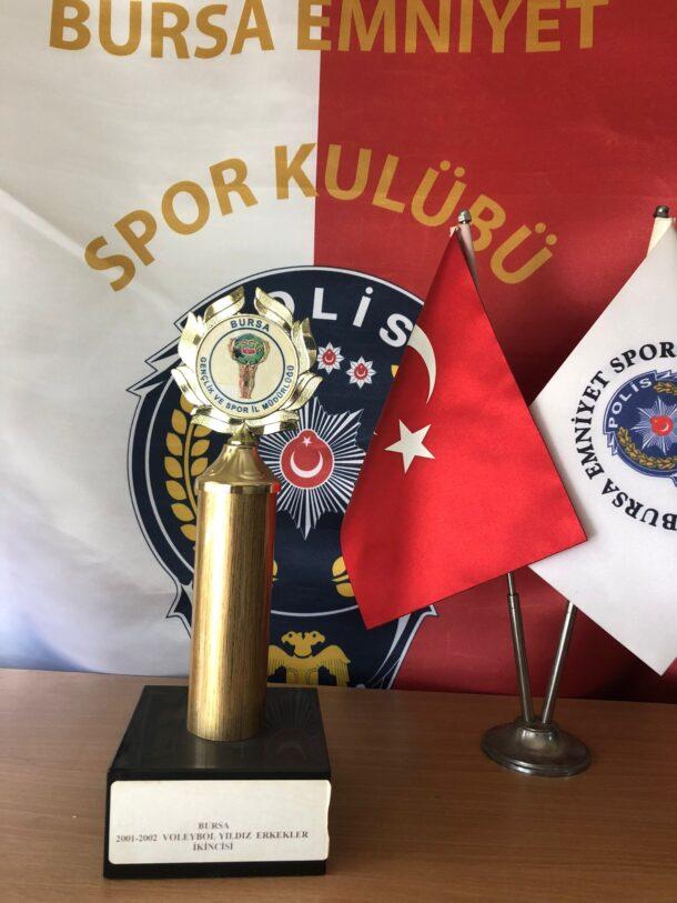 Yıldız Erkekler 2001-2002 Voleybol Sezonu Bursa