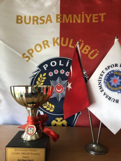 2001 Şehit Emniyet Müdürü A. Gaffar Okkan Futbol Turnuvası Üçüncüsü