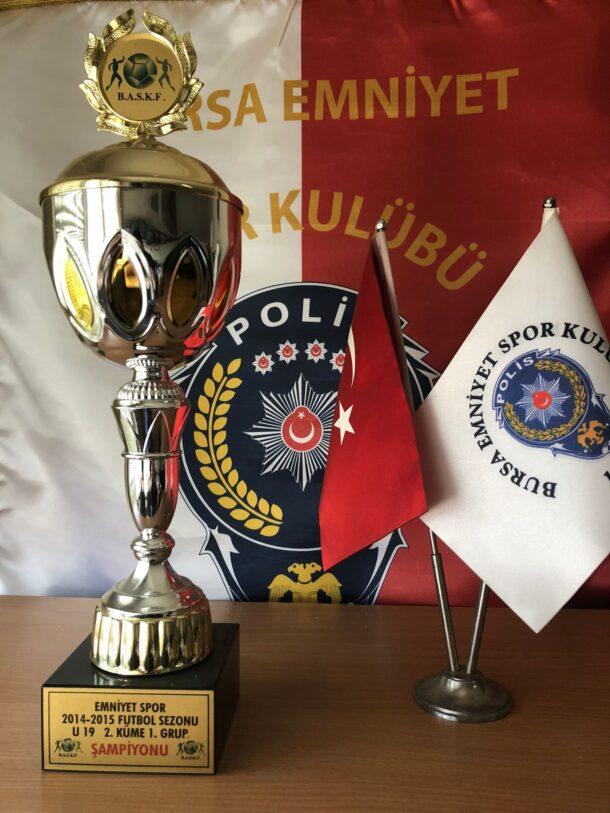 2014-2015 Futbol Sezonu U19 2. Küme 1. Grup Şampiyonu