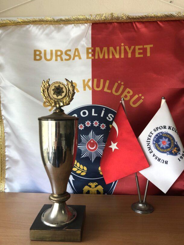 İkinci Türkiye Polis Atış Şampiyonası Ateşli Silahlar Birincisi 1986