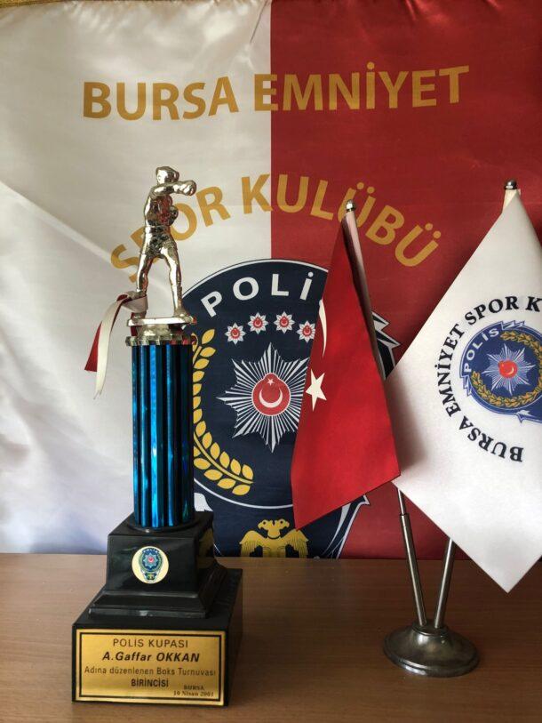 2001 Şehit Emniyet Müdürü A. Gaffar Okkan Adına Düzenlenen Boks Turnuvası Birincisi