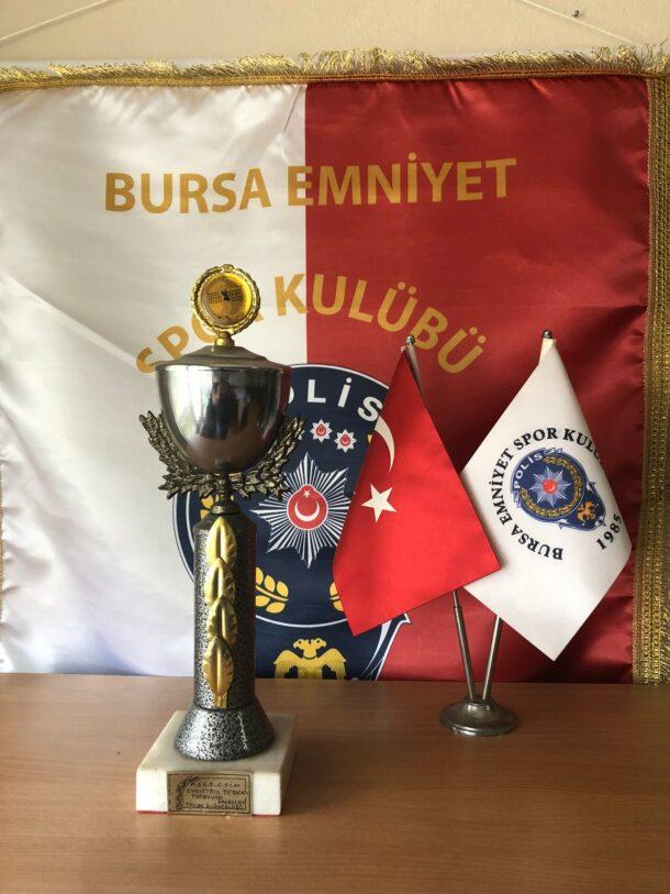 1.Voleybol Teşvik Turnuvası Erkekler Takım Üçüncülüğü